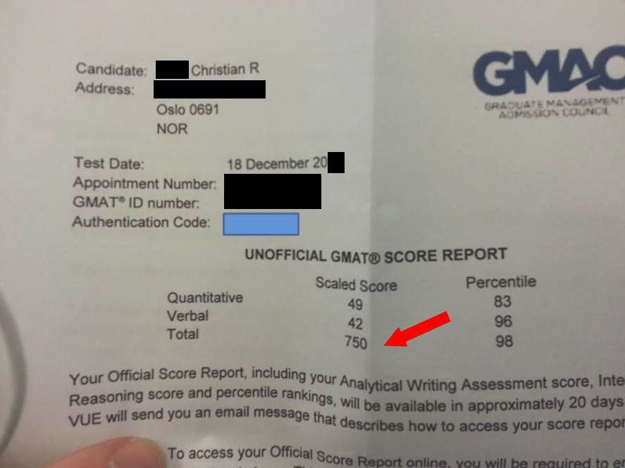 email christian unofficial gmat 750 GMAT on 1st try: Congrats to Christian   (Q49, V42)