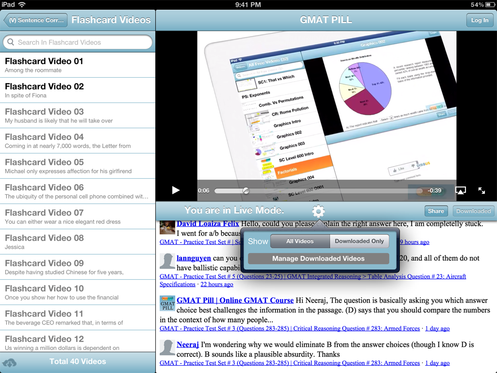 ipad1 How To Download GMAT Pill iPad App (Approved by Apple)
